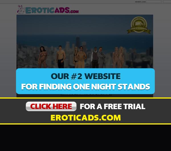 Homepage Screen Shot For EroticAds.com